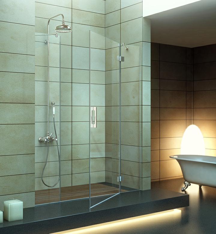 Iosna accesorios de aluminio y pvc mampara de ducha mod for Accesorios mampara ducha