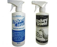 KIT PROFESIONAL ENDUROSHIELD ACERO INOX 500 ML